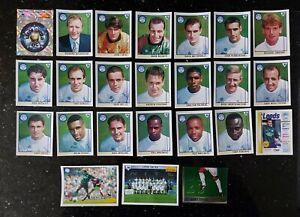 LEEDS UNITED - 1996 Merlin Premier League 96 Stickers