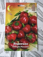 Hortus Buona Luna 3 gr semi di peperone ciliegia piccante seminare orto