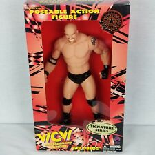 """WCW Signature Series Bill Goldberg 12"""" Pose-able Action Figure New In Box WWE"""