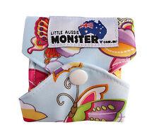 Cloth Menstrual Pads Bamboo Charcol Reusable Sanitary Pad Butterfly MEDIUM