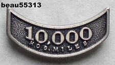 HARLEY OWNERS GROUP HOG H.O.G. 10,000 MILEAGE MILE VEST JACKET HAT PIN