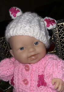 COMES NOW DRESSED L@@k Berenguer Doll*Bath Doll Gr8 4 Reborn Baby 8 Inch