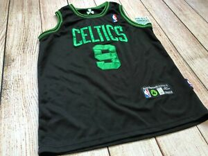 Reebok Rajon Rondo #9 Stitched Boston Celtics NBA Jersey, Youth Boy Medium  M +2