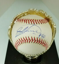 Bartolo Colon  pitcher Indians World Series and Yankees .    Signed AL baseball
