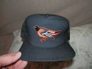 Baltimore Orioles Hat Cap VTG NEW snapback MLB size Med-Large MLB foam backing