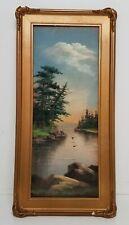 Antique Landscape Pastel 11x23