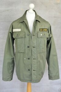 RALPH LAUREN Denim & Supply khaki army military jacket LARGE