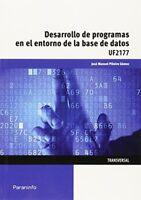 Desarrollo De Programas En El Entorno De La Base De Datos (Cp - Certificado Pro