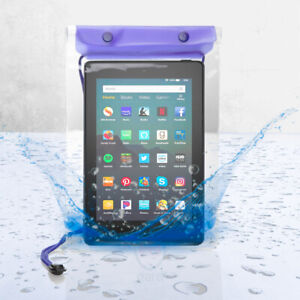 """Universal Waterproof Case Cover Pouch Bag for 7"""" 8"""" Inch Android Tablets"""