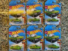 Lot of 6 2017 Hot Wheels 30/250 HW Hot Trucks Custom '72 Chevy Luv   BO