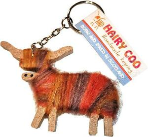 Hairy Coo Highland Cow Cameron Key Ring