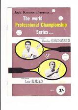 Tennis Memorabilia Programmes