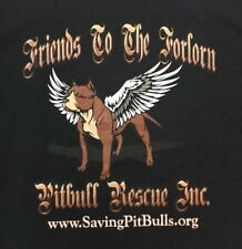 NWOT Friends To The Forlorn Pitbull Rescue Classic Logo Tshirt 2XL