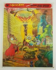 Vintage The Secret Of Nimh 1982 Whitman Inlaid XL Frame Tray Puzzle