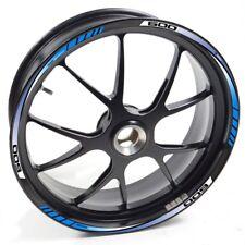 Stickers Strip Tape Stripes Vinyl Wheel Rim Suzuki GSX R 600 Blue Auen