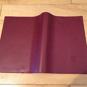PORSCHE 356 911 912 T E S SC EARLY 1970'S OWNER'S MANUAL BOOK FOLDER IN RED NEW