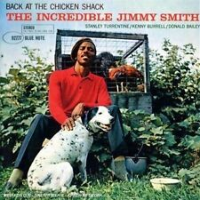 CD 5T JIMMY SMITH BACK AT THE CHICKEN SHACK 1987 TBE