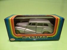 KK SAKURA NO 7 ROLLS ROYCE SILVER WRAITH - SILVER 1:43 - GOOD CONDITION IN BOX