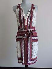Sanctuary Craft Printed Shirtdress Shirt Dress Bohemian Scarf Print Tribal sz L
