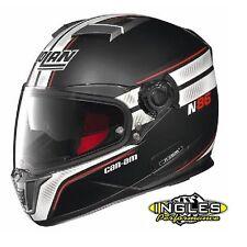 4484210693 Can-Am Spyder Nolan N86 Rapid Helmet (DOT); Matte Black Size Medium
