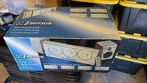 Emerson Triple-Play Linear 3 Disc AM/FM Stereo CD Changer MS3105 Brand new!