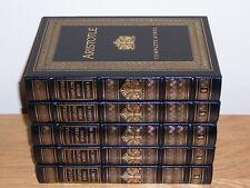 Easton Press COMPLETE WORKS OF PLATO & ARISTOTLE in 9 vols