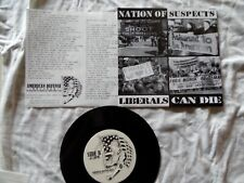 Nation Of Suspects oi! 7 inch vinyl record hardcore isd