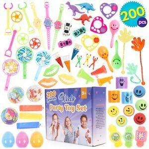 200 x Bulk Party Toys Party Bag Fillers Birthday Pinata Lucky Dip School Prizes