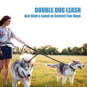 Belt Dog Running Leash Free Hands Waist Adjustable Dual Walking Handle Jogging