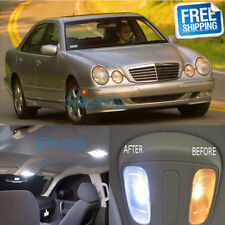 13x LED Interior Lights Package Kit For Mercedes Benz W210 E320 E55 AMG 95-03