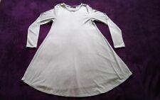Fantastic Boohoo maternity long sleeved dress/tunic top Size 10 - Light grey
