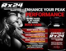 Anabolic Rx 24 Boost Free Testosterone Build Lean Muscle-/FLASH SALE !!