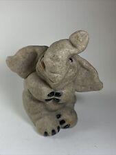 Quarry Critters Second Nature Elijah The Elephant Design Stone Figurine