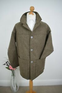 NIGEL CABOURN x FOX BROTHERS Tweed Donkey Jacket £595 Size 50/52 Large Mr Porter