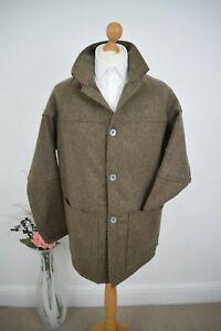 NIGEL CABOURN x FOX BROTHERS Tweed Donkey Jacket £595 Size 50/52 Large Mr Porter