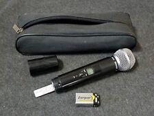 SHURE ULX2-J1 554-590 MHz SM58 Wireless Microphone w/9 volt battery