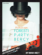 Publicité Advertising 018  2011  Florence Foresti party à Bercy & radio NRJ