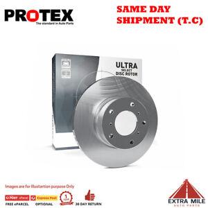 Protex Ultra Select Rear Rotor Pair For AUDI A6/ALLROAD 3.0L/2.0L/2.8L/2.4L