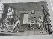 OPTICIAN OPTICAL  amazing mounted 1700s engravings equipment etc  GIFT POTENTIAL