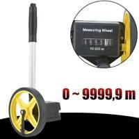 Präzisions Messrad Rolltacho Messroller Laufmeter Tachorad Rollmeter Feldmeßrad
