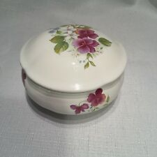 San Francisco Music Box Ceramic Covered Trinket Dish & Bowl, musical jewelry box
