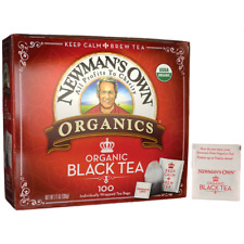 Newman's Own Organics Organic Black Tea 100 Bag(S)