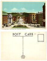 CANADA Postcard - Quebec, Sherbrooke, King Street West (B18)