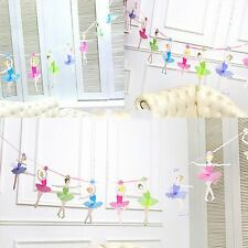 Ballet Girls Letter Paper Garlands Flag Banner Party Birthday Wedding Decoration