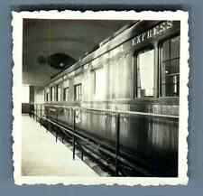 Train Grands Express   Vintage silver print.  Tirage argentique d'époque
