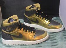 Nike Air Jordan 1 Retro High Bhm Gg 909805 700 Size 5Y