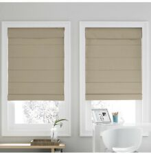 """Real Simple Cordless Roman Cellular 23"""" x 72"""" Shade in White"""