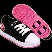 Heelys X2 Fresh Black Pink Girls Two Wheel Heelys