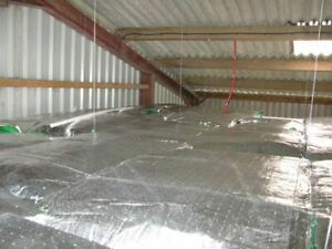 Low-E Reflective Suspended Ceiling Tiles Framing Insulation Roll Easy Fit