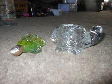 2 Vintage Avon Turtle Items, Perfume, Sparkling Turtlette Votive Holder, 1977 78